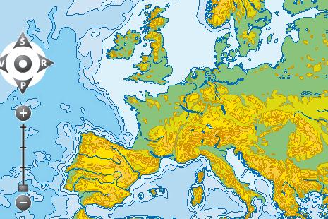 Europos upės ir ežerai